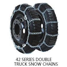 42 系列 双轮卡车防滑链 42 SERIES DOUBLE TYRE TRUCK SNOW CHAIN