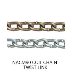 NACM90 COIL CHAIN TWIST LINK