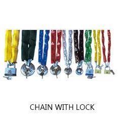 链条配锁   CHAIN WITH LOCK