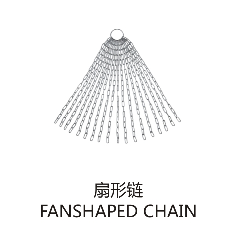 扇形链 FANSHAPED CHAIN